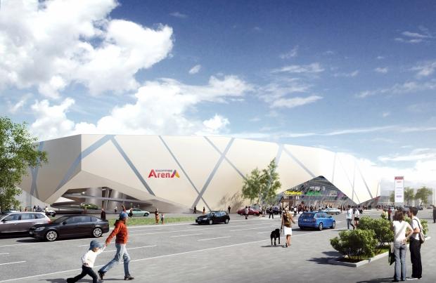 Neues 'Einkaufscenter in Salzburg